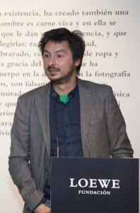Antonio Lucas, XXVI Premio Loewe-foto Ux°o da Vila