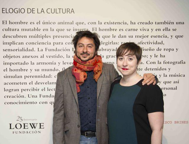 Antonio Lucas y Elena Medel -foto Ux°o da Vila