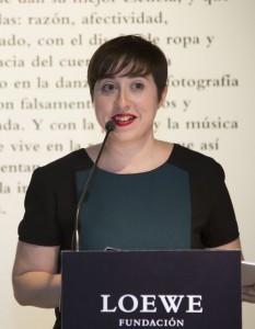 Elena Medel, XXVI Premio a la Creaci¢n Joven-foto Ux°o da Vila