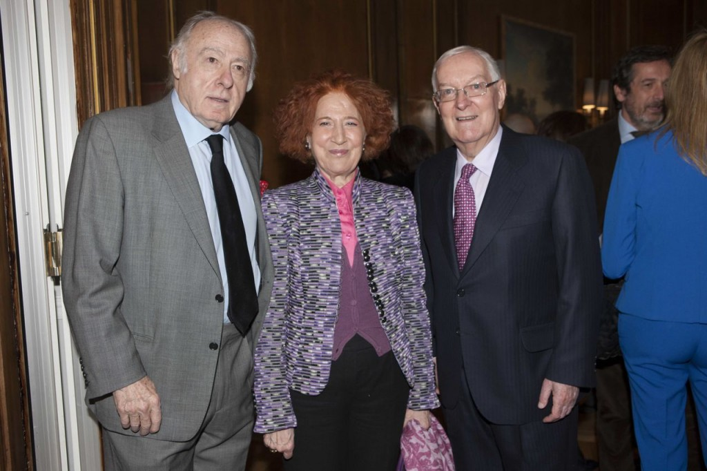 Eduardo Arroyo, Carmen Iglesias y V°ctor Garc°a de la Concha