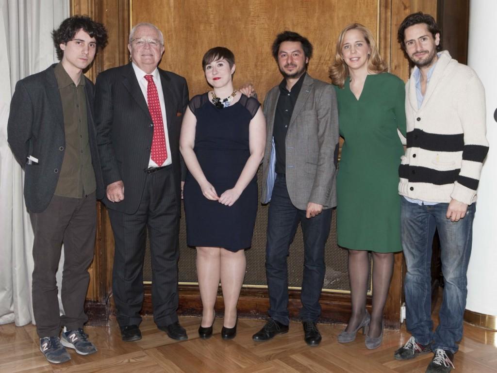 Jon†s Trueba, Enrique Loewe, Elena Medel, Antonio Lucas, Sheila Loewe y Juan Diego Botto