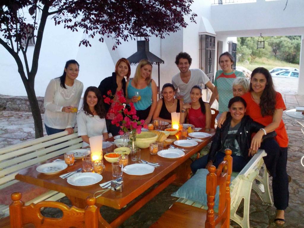 cena alumnos