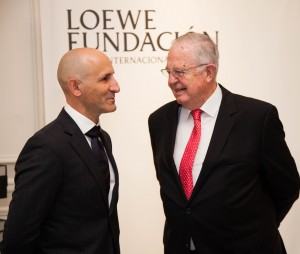 Modesto Lomba y Enrique Loewe