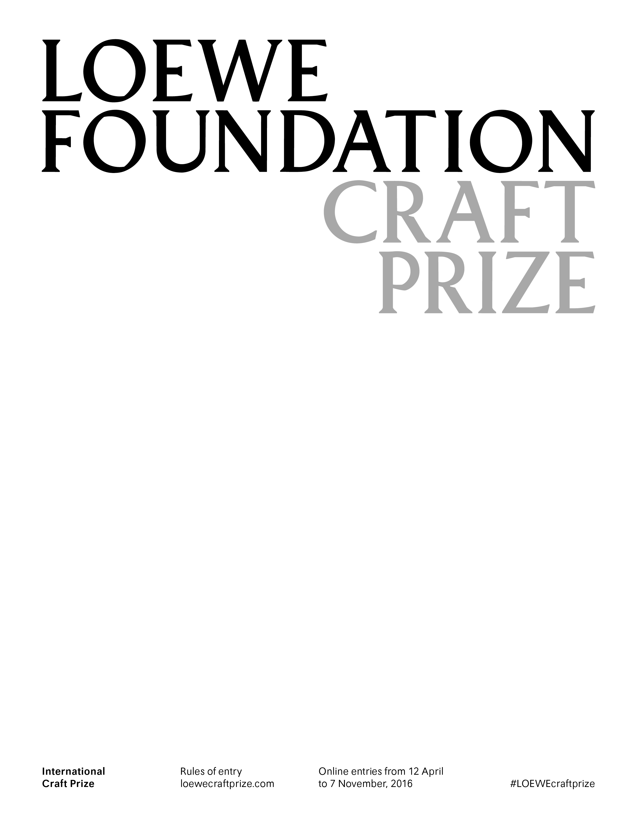 craft prize sp 2016
