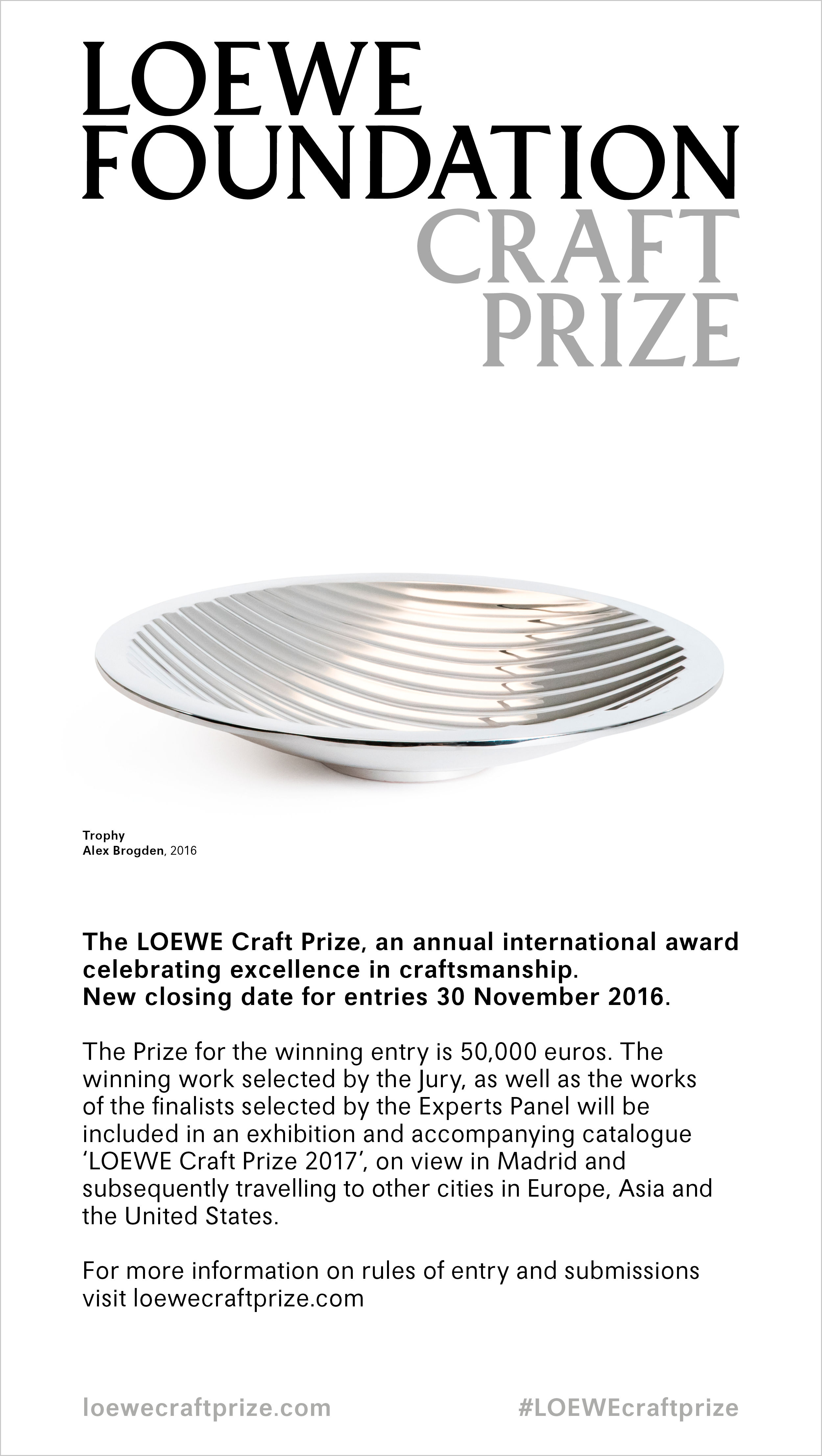 loewe-craft-prize-new-closing-date