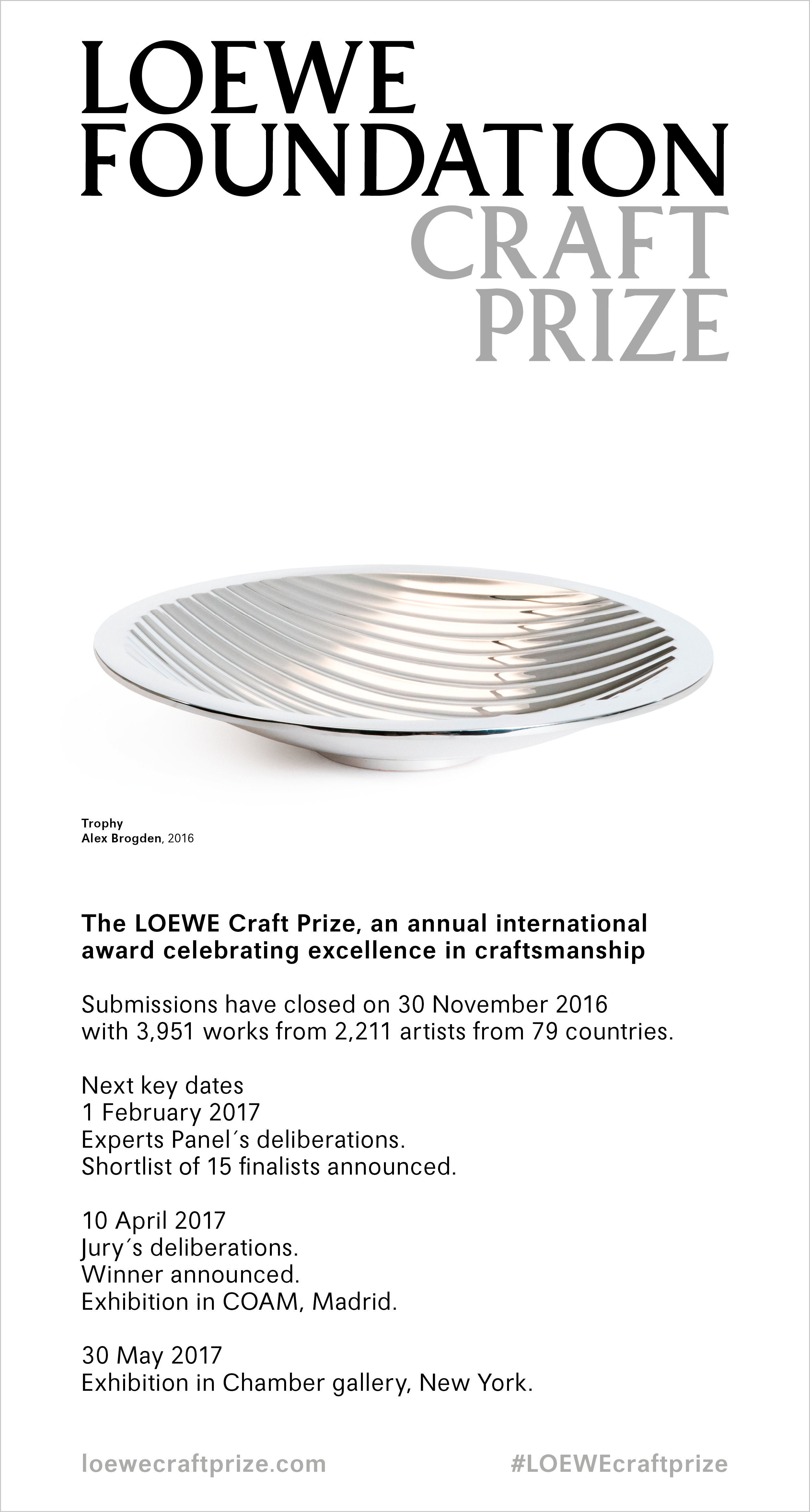 loewe-craft-prize-closes-with-3951-entries